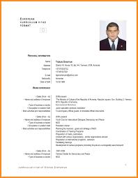 Resume Translator 6 Resume In English Examples Mystock Clerk