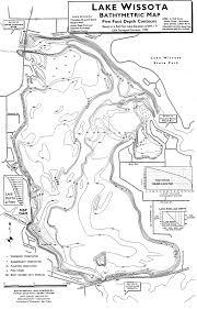 Wisconsin On Map by Lake Wissota 1 Chippewa County Wisconsin