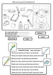 worksheet hygiene worksheet
