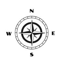compass wind rose royalty free vector image vectorstock