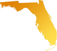 Map State Of Florida by Florida