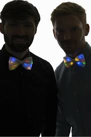light up bow tie light up bow tie white with multicolor led lights blue digger