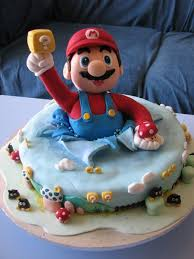 mario cake i m getting hungry another mario cake geekologie