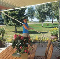 Manual Retractable Awning Sunsetter Retractable Awnings Nj Designing Windows Plus