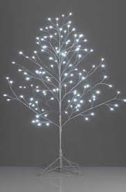 white led twig tree more production