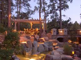 outdoor lighting ideas for backyard party pavillion home designs