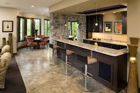 Games For Basement Rec Room by Check Out The Luscious Wet Bar Offset From The Spacious Rec Room