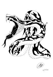 snake tattoo design by fatlittleseal on deviantart