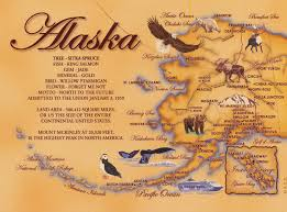 Bethel Alaska Map by Alaska Map With State Information Around The World In As Long