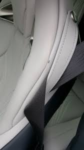 lexus brand leather cleaner seatbelt wear marks on the leather seats page 2 clublexus