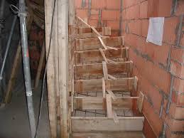 treppe einschalen jürgen bardosseck bauunternehmung