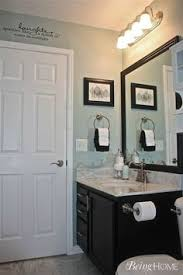 Bathroom Colors Ideas Before U0026 After Updating A Half Bath U0026 Laundry Room Hooked On