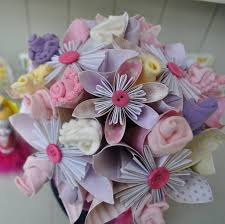 paper flower bouquet new baby flower bouquet by cot2tot beyond notonthehighstreet