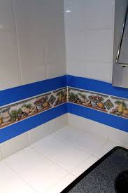 paint over dated backsplash tile food fun kids