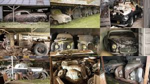 Barn Finds Cars The World U0027s Most Valuable Barn Find Ever 60 Rare Cars Untouched