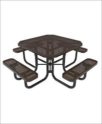 exteriors octagonal 8 seat bbq table square picnic table octagon