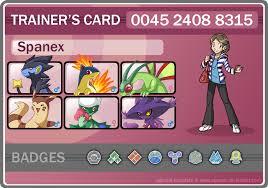Pokemon Trainer Card Designer Pokemon Trainer Card Spanex By Pipann On Deviantart