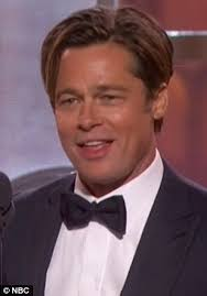brad pitts haircut in seven brad pitt confuses fans with his young appearance at golden globe