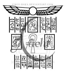 egyptian hieroglyphics tattoo sample photos pictures and