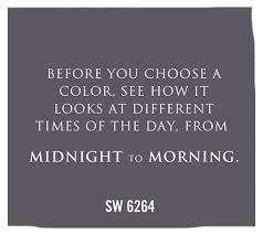 sherwin williams paint color midnight sw 6264 yep the lighting
