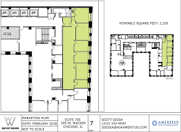 chicago union station floor plan 205 w wacker dr chicago il 60606 property for lease on