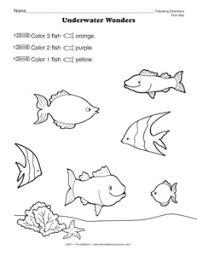 printables following directions worksheets ronleyba worksheets