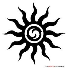 65 sun tattoos tribal sun designs tatt