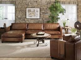 Pottery Barn Sectional Couches Brilliant Leather Sofa With Chaise Jake Leather Sofa With Chaise