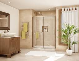door ideas for small bathroom also wall mounted square clear glass