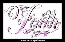 new lovely faith tattoo design tattooshunt com