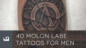 40 molon labe tattoos for men youtube