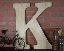 Country Home Wall Decor Painted Letters Etsy