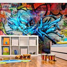 tapeten für jugendzimmer vlies fototapete kinderzimmer jugendzimmer vlies tapete graffiti