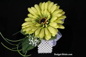 Mint Green Corsage Gerbera Daisy Wrist Corsage