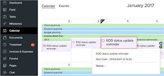 online shared group calendar zoho projects