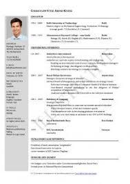 Microsoft Word Job Resume Template Free Resume Templates Download For Microsoft Word Job In 85