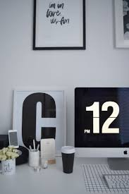 Stylish Desk Accessories 140 Best O F F I C E Images On Pinterest White Office Office
