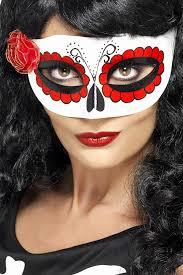 amazon com smiffy u0027s women u0027s mexican day of the dead eye mask