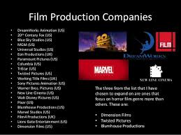 production companies companies