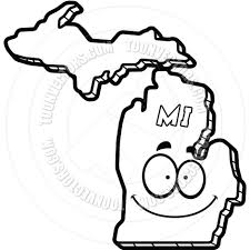 State Of Michigan Map by Best Photos Of Map Of Michigan Coloring Sheet Michigan Map