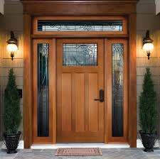 natural modern design of the door design ideas that has stone