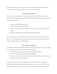 Insurance Underwriter Resume Sample by The Potential Perils Of Personal Issues In Coaching