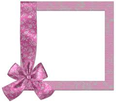 baby pink png frame with bow gallery yopriceville high