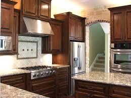 Backsplash With Marble Countertops - tiles backsplash country kitchen cupboard design with travertine