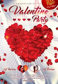 valentines flyer template download free valentines day flyer psd