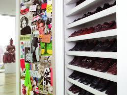 Small Walk In Closet Design Idea With Shoe Storage Shelving Unit Minimalis Closet Organizer Shoe Storage Roselawnlutheran