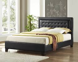 amazon com homelegance 5787 1 queen size platform bed black bi
