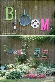 Backyard Fence Decorating Ideas diy outdoor projects 18 lovely fence decorating ideas style
