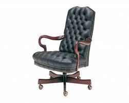 Executive Desk Chairs Tufted Leather Executive Office Chair With Regard To Tufted