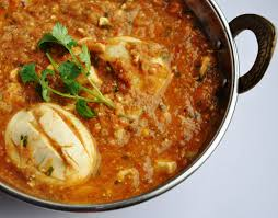 my delectable punjabi egg curry in a rich u0026 brown gravy